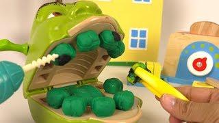 Shrek Chez le Dentiste Carries Soins Dentaires avec Madame Récré