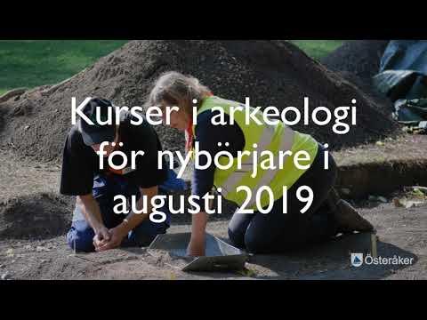 Kurser i arkeologi i Biskopstuna 2019