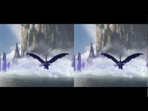 How to Train Your Dragon - Test Drive Scene MV (FullHD 3D) [YT Best Audio Quality] {Isolated Score}
