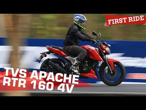 TVS Apache RTR 160 4V - First Ride Review
