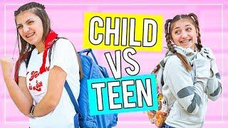 TEEN vs CHiLD: Last Day of School