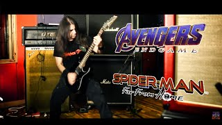 "The Avengers ""Endgame"" - Spiderman Metal Cover - ORION'S REIGN"