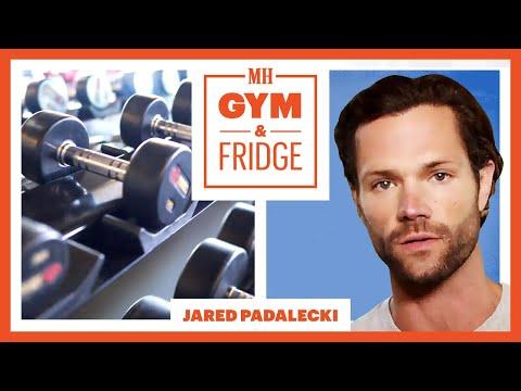 Walker's Jared Padalecki Shows His Home Gym & Fridge | Gym & Fridge | Men's Health