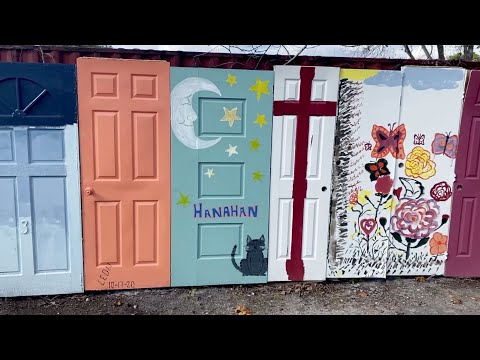 screenshot of youtube video titled Palmetto Scene | Hanahan Art