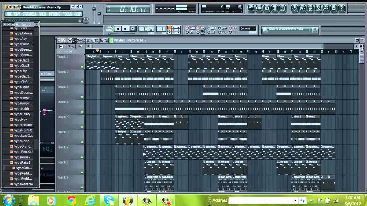 Flp kendrick lamar swimming pools instrumental remake - Kendrick lamar swimming pools mp3 ...