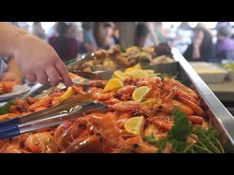 video Gold Coast Lunch Buffet Cruise