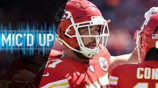"Travis Kelce Mic'd Up vs. 49ers ""You Tired of Running Up and Down? 