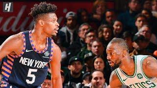 Boston Celtics vs New York Knicks - Full Game Highlights | December 1, 2019 | 2019-20 NBA Season