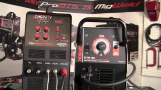 Hobart Tig Welder >> Hobart Ez Tig 165i Vs Longevity Tigweld 200sx Head To Head Machine Controls Comparison Review Part 1