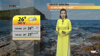 Dự báo thời tiết du lịch VTV4 (Cũ) 28/8/2018
