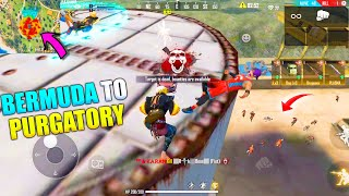 Bermuda To Purgatory Best Funny Gameplay | King Of Factory Fist Fight P.K. GAMERS | Garena Free Fire