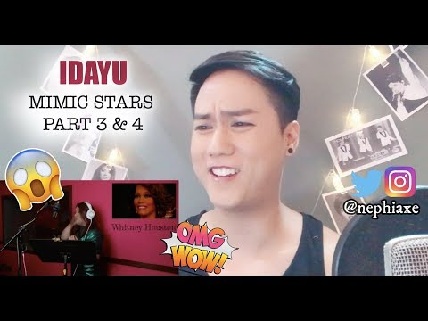 VIRAL IDAYU MIMIC STARS PART 3 & 4 | REACTION