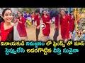 Viral video: Deepthi Sunaina performs mass dance during Ganesh immersion rally