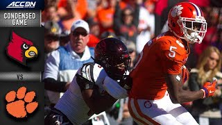 Louisville vs. Clemson Condensed Game | 2018 ACC Football