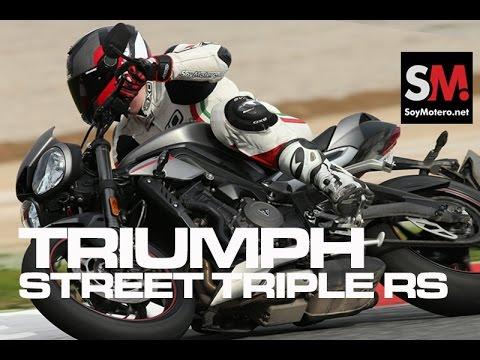 Triumph Street Triple RS 2017: Prueba Moto Naked (FULLHD)