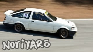 AE86 touge drift on-board