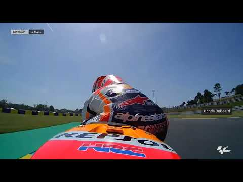 French GP: Honda OnBoard