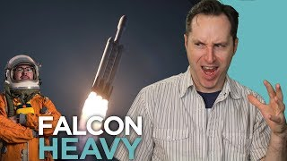 The SpaceX Falcon Heavy Is Ready To Launch (Ft. The Everyday Astronaut) | Answers With Joe