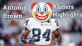 Antonio Brown Oakland Raiders Highlights