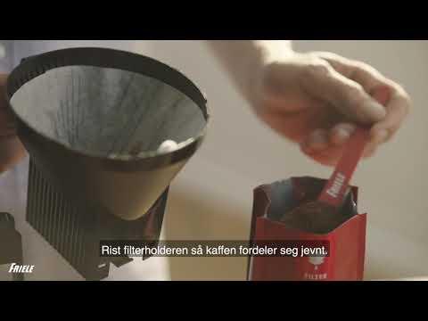 Hvordan lage god filterkaffe