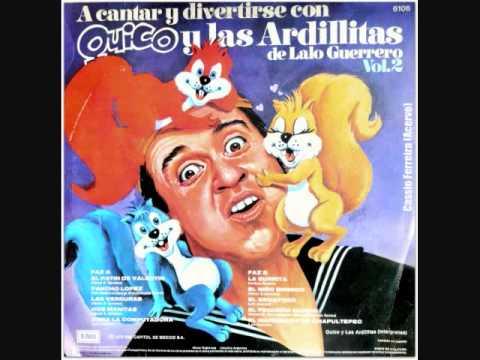 Quico y Las Ardillitas de Lalo Guerrero- El patín de Valentín (1978)