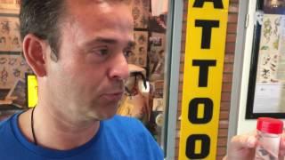 Verslaggever Jack ging langs bij Tattoo Bob