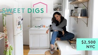 What $2,500 Will Get You In NYC | Sweet Digs Home Tour | Refinery29