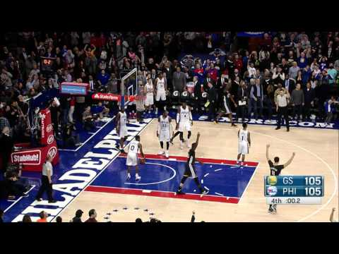 Harrison Barnes Three Sinks the 76ers