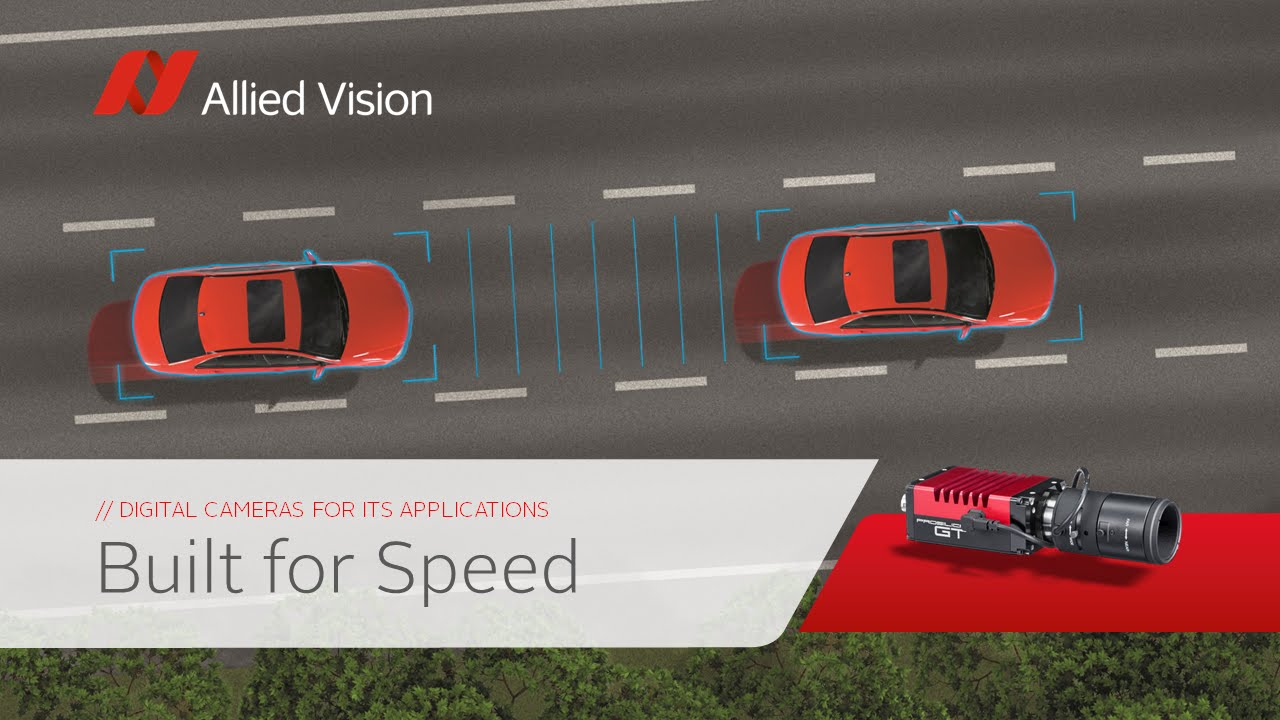 Allied Vision: Built for speed - Allied Vision cameras in ITS applications