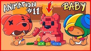 [#11] BRAWL STARS ANIMATION - BABY BRAWLERS