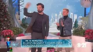 Sebastian Stan on Ellen full interview