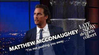 Matthew McConaughey Has Stephen's Old Sketches Memorized