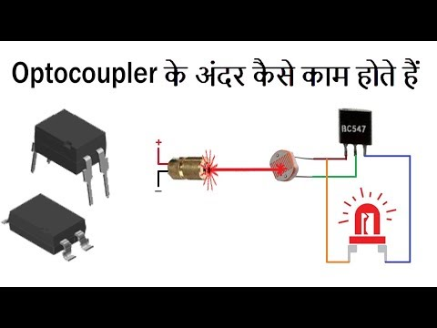 how to work optocoupler explained practically