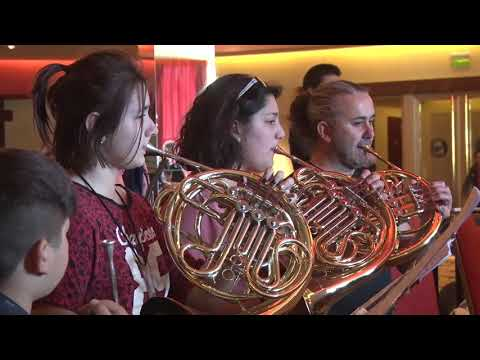 """Destacan la importancia de """"Glaciares en Concierto"""" para las orquestas de la provincia"""