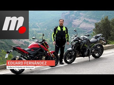 Kawasaki Z900 vs Suzuki GSX-S 750| Comparativo / Test / Review en español | motos.net