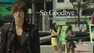 So Goodbye - Jonghyun (SHINee) [OST City Hunter] Eng sub (Lee Min Ho & Park Min Young)