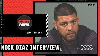 Nick Diaz on UFC 266 return, fighting Robbie Lawler & more | ESPN MMA