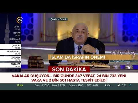 Türkiye'de Ramazan – 03 05 2021