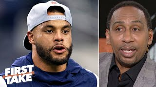 Jerry Jones wouldn't treat Tony Romo like he is treating Dak Prescott – Stephen A.   First Take