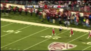 2010 Apple Cup Washington vs. Washington State