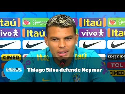 Thiago Silva sobre Neymar: espero que não perca a alegria