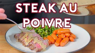 Binging with Babish: Steak au Poivre from Archer
