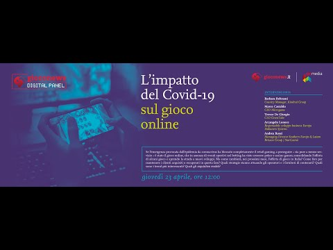 Gioco News Digital Panel: 'L'impatto del Covid-19 sul gaming online'