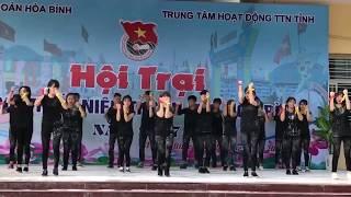 Dân vũ Lạc trôi - Bống bống bang bang - Bắc kim thang (Đoàn thanh niên phường Thái Bình_TP Hòa Bình)