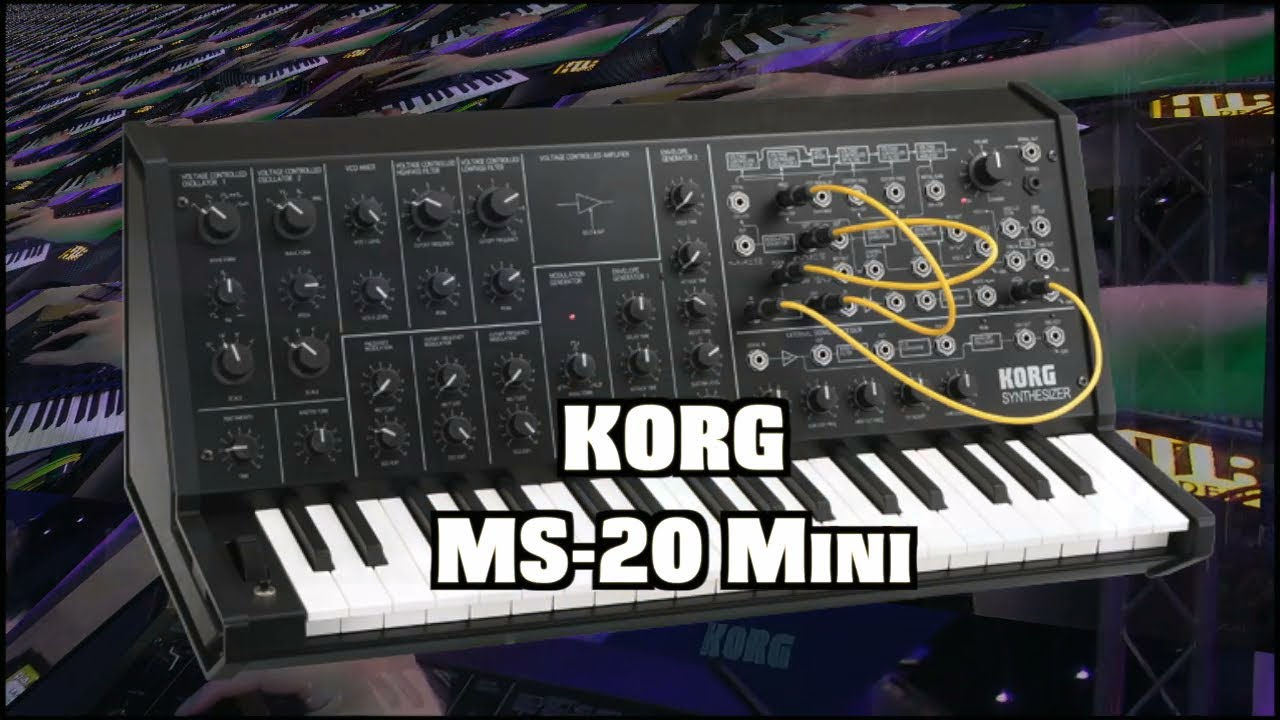 korg ms 20 mini analog synth demo youtube. Black Bedroom Furniture Sets. Home Design Ideas