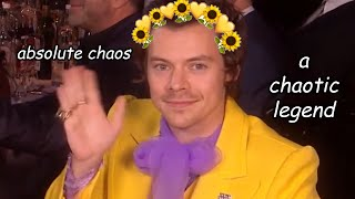 Harry Styles causing chaos at the BRITs