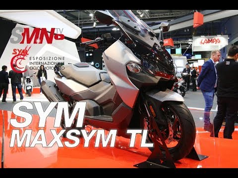 SYM MAXSYM TL 2019 - EICMA 2018 [FULLHD]