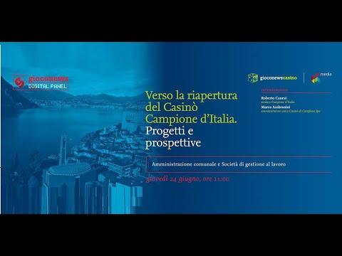 Verso la riapertura del Casinò Campione: il digital panel di Gioco News