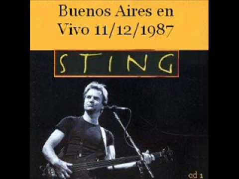 The Lazarus Heart - Sting (Live in Buenos Aires 1987) .wmv