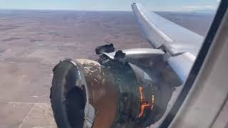 Plane Engine Explodes, Parts Fall From The Sky In Colorado